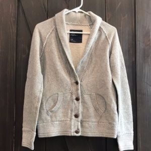 American Eagle Outfitters gray cardigan small